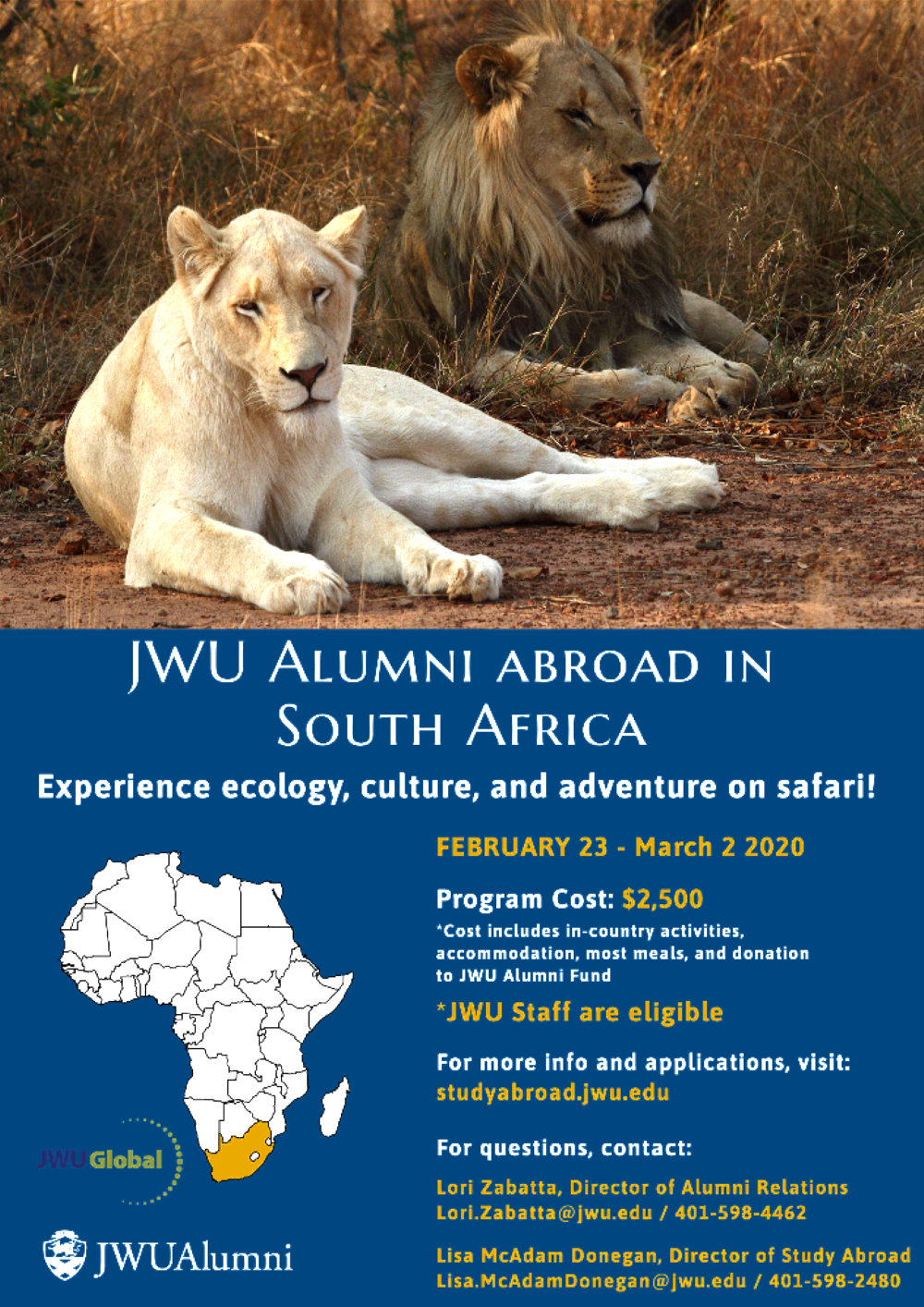 South Africa Alumni Program